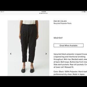 Pas De Calais cropped pants